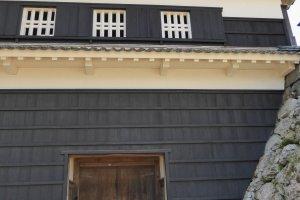La fausse porte au château de Kochi