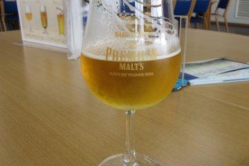 ทัวร์ชมโรงผลิตเบียร์ Suntory Musashino