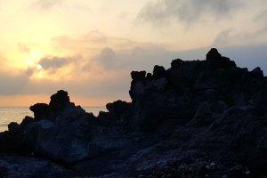 Juroku Rakan Iwa rock formation