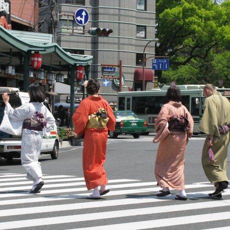 Pemandangan di Jalanan Jepang