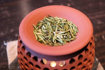 茶葉做成的香熏