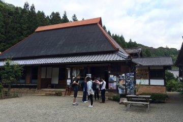 飯福田寺外觀