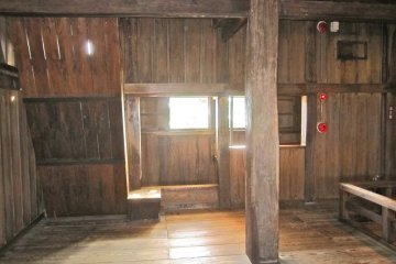A guard station on the 2nd floor