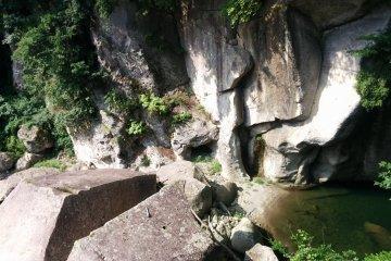 Rairaikyo Gorge in Akiu