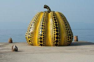 """""""Yellow Pumpkin,"""" by Yayoi Kusama"""