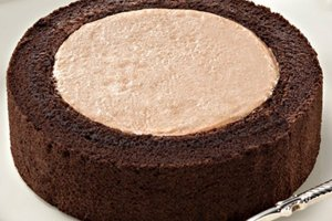 Premium Chocolate Roll Cake