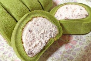 Uji Matcha Mochi Texture Roll Cake