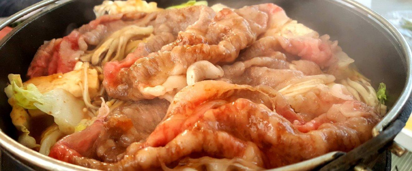 Boeuf de Yonezawa façon sukiyaki