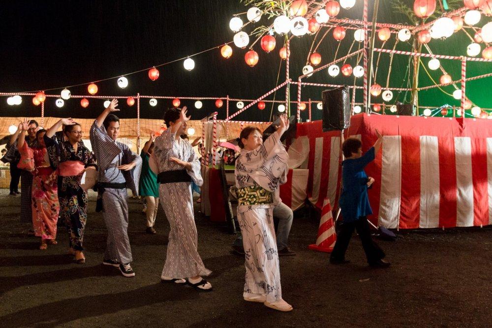 The Bon dance