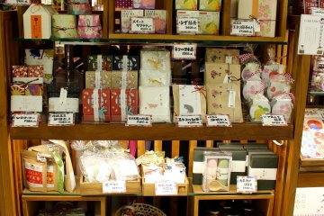 传统茶点、食物与商品