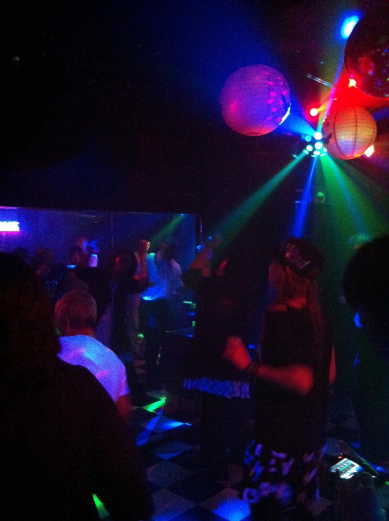 Dancing at the Blue Belton Discotheque