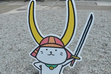 Hikonyan, the cheerful representative of Hikone