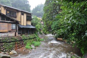 Okunoyu Onsen in Kyushu