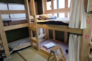 Bunk bed in tatami room