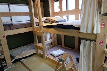 榻榻米房間的雙層鋪
