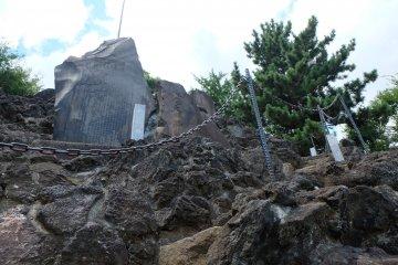 通往富士塚的路