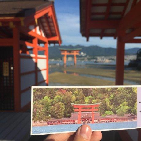 Kue Momiji di Miyajima