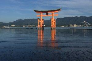 Cổng Torii nổi, đền Itsukushima
