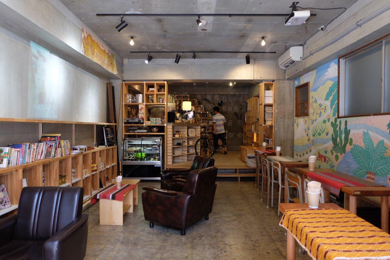 咖啡店內部氛圍