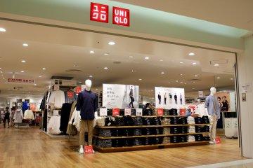 Namba城地下 2 层的优衣库。