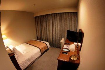 Room at Hotel Harvest in Yonago