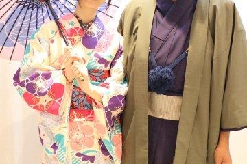 Studio photo at Kyoto Kimono