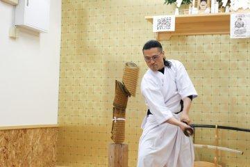 Sword demonstration