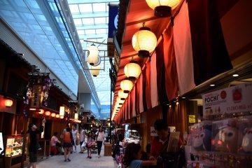 Edo-koji Street on the 4th floor