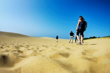 Tottori Sand Dunes - Desert in Japan