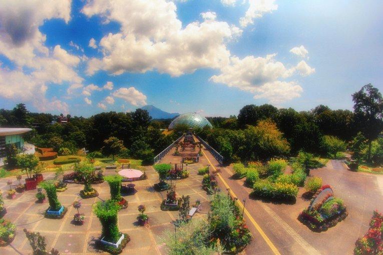 Цветочный парк Ханакайро в Тоттори