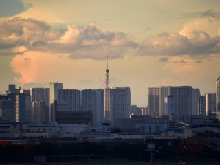 Tokyo Tower can be seen from here, too