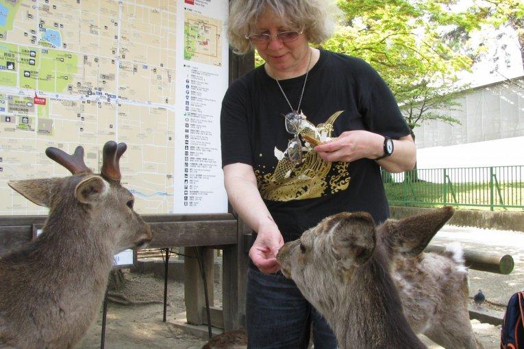 Binatang di kota-kota Jepang