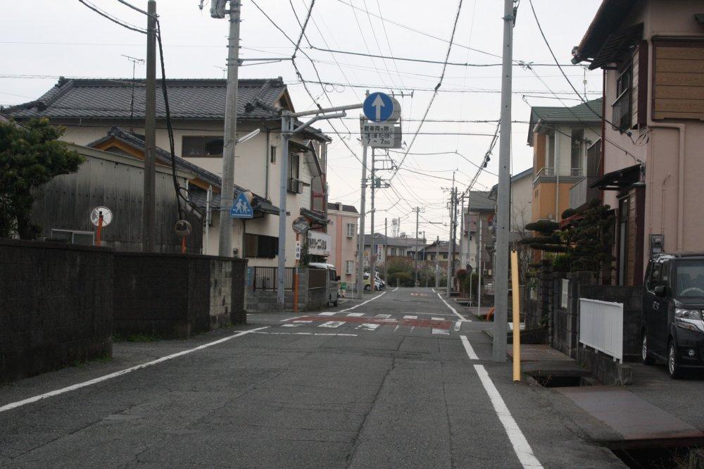 Jalanan yang senggang