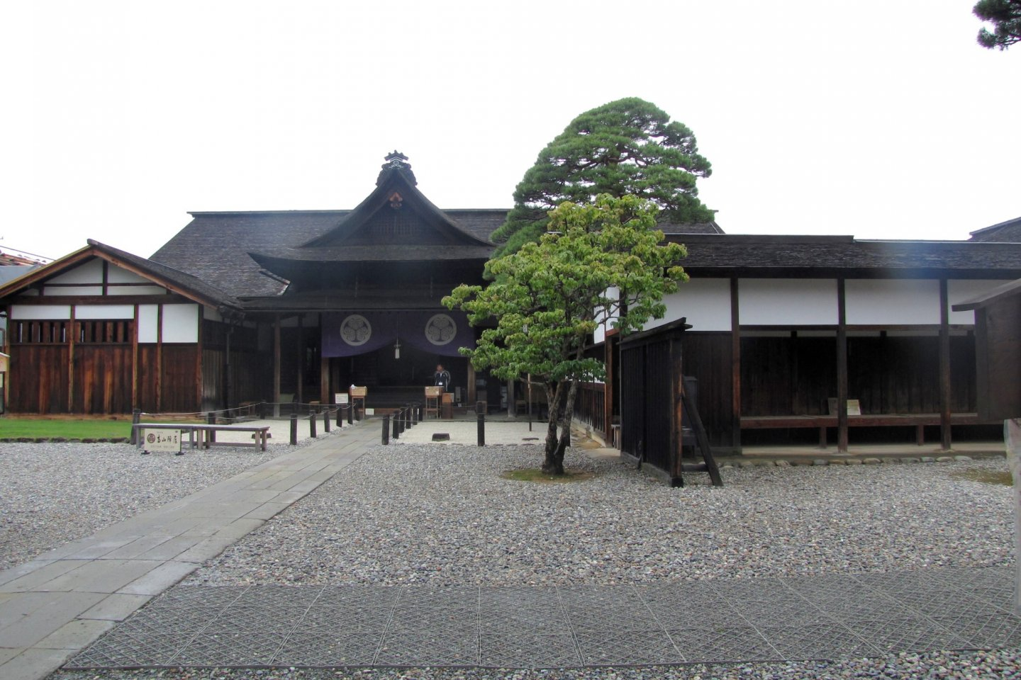The entrance to the Takayama Jinya