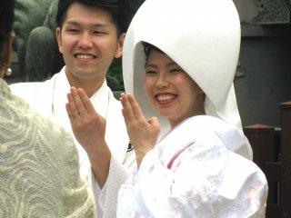 Pernikahan di Asakusa, Tokyo