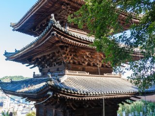 La pagode du temple Tennei-ji