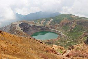 Okama presso il Monte Zao