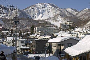 Zao Onsen Town