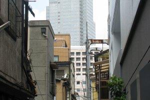 Phố hẹp ở Tsukishima