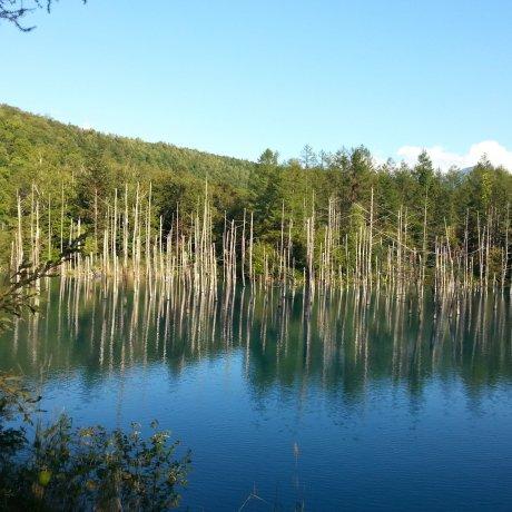 สระน้ำสีฟ้าแห่งเบอิ และน้ำตกชิระฮิเกะ