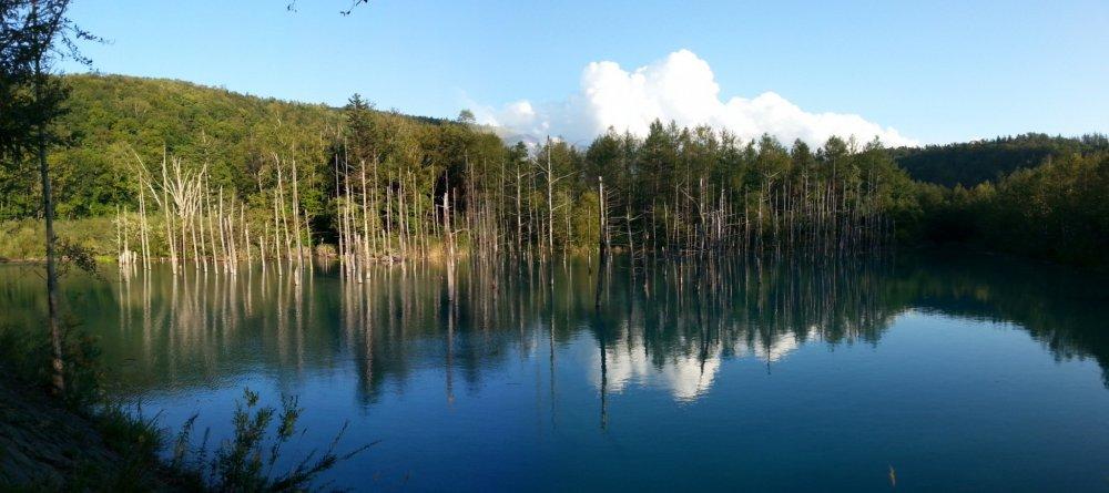 Góc khác của hồ