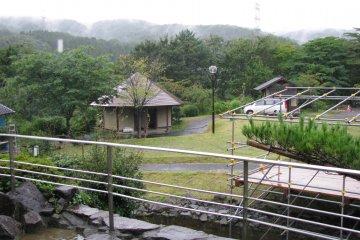 Вид на деревню мастеров