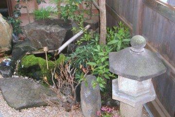 A Small Garden in Sawara