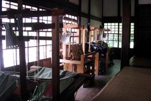 Old weaving machines