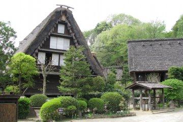 A house of Shirakawago village