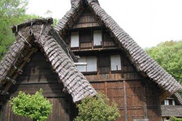 One more house of Shirakawago region