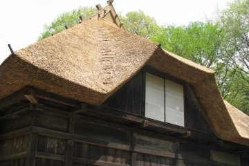 Beautiful shape of the roof!