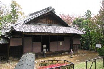 Old Kabuki stage