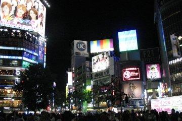 Shibuya at Night