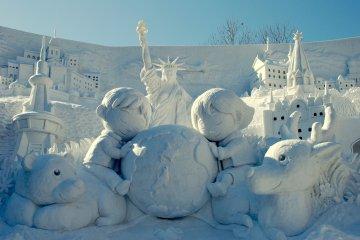 งานเทศกาลหิมะแห่งซัปโปโร